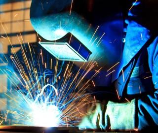 Metallverarbeitung Schweißarbeiter