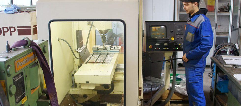 CNC Fraesmaschine